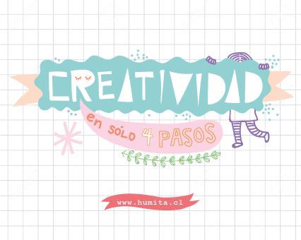 Creatividad en 4 pasos