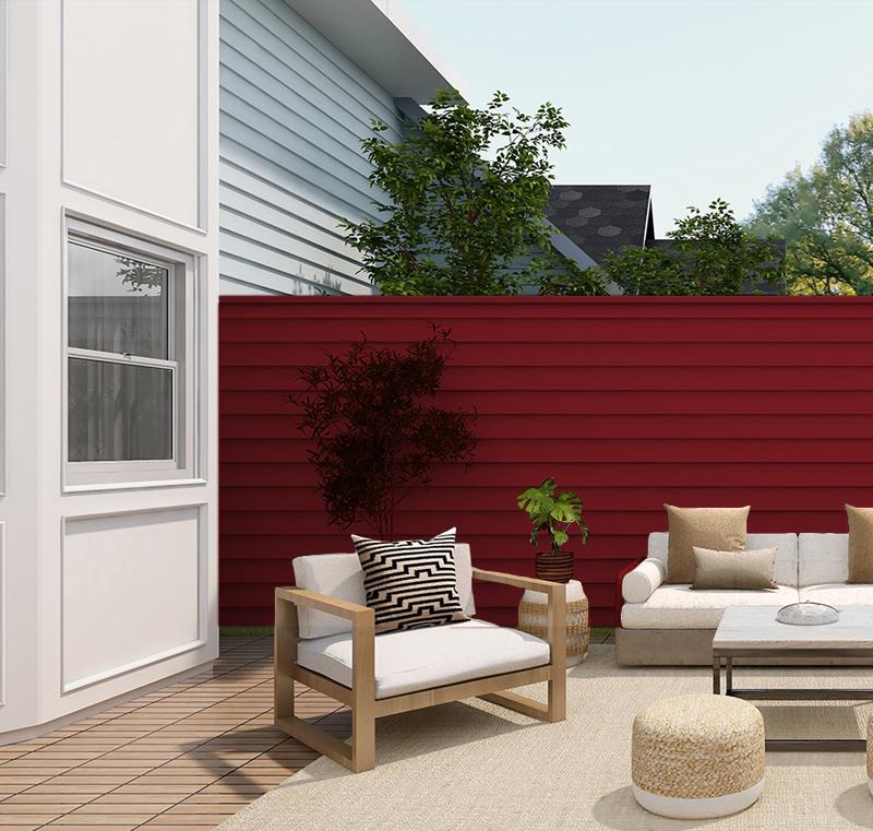 Siding PVC Color Ligth house 3,80 metros