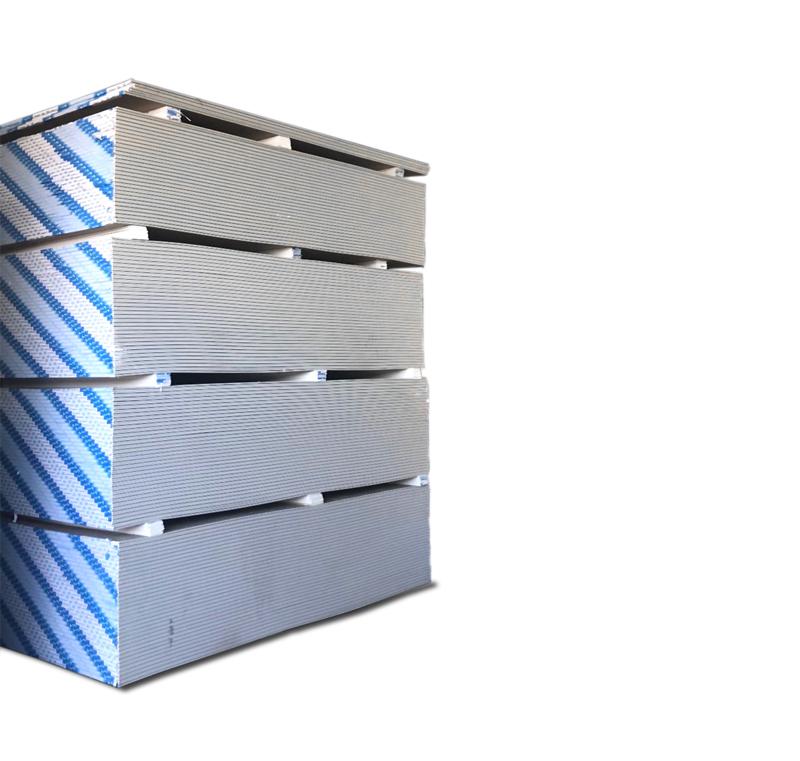 Yeso Cartón 1.20x2.40x 10 mm