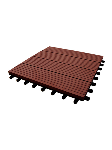 Palmeta WPC 30x30cm Chocolate (1/caja)