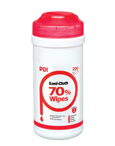 Toalhetes Sani-Cloth 70% - 200 toalhetes
