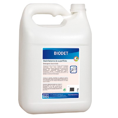 Biodet Desinfectante de Superfícies Sem Perfume 5L