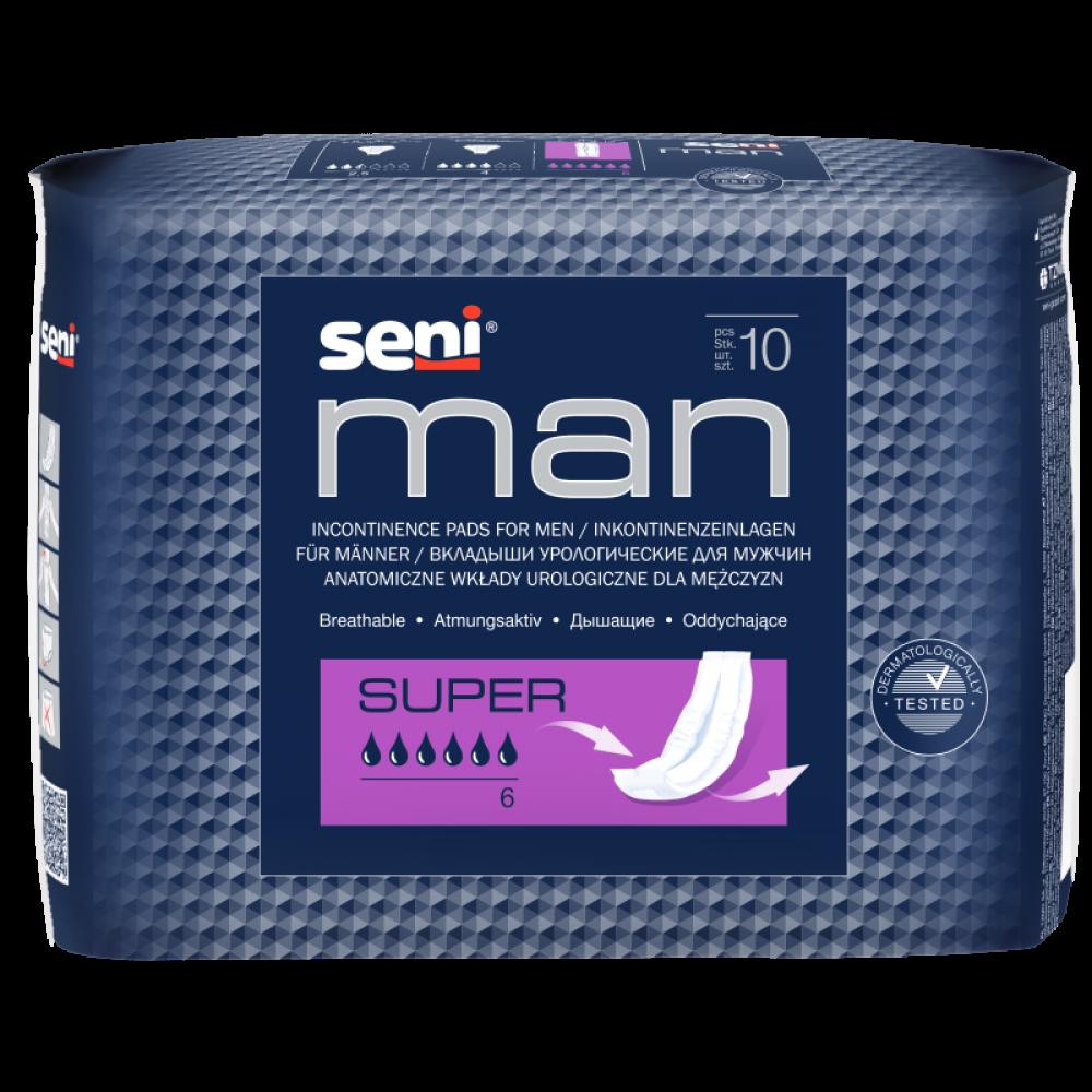 Almofada Urológica para Homens Seni Man Super