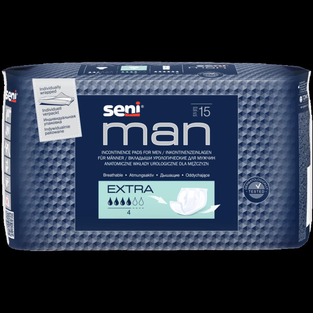 Almofada Urológica para Homens Seni Man Extra
