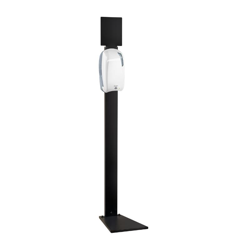 Coluna Vertical com Dispensador de Desinfectante
