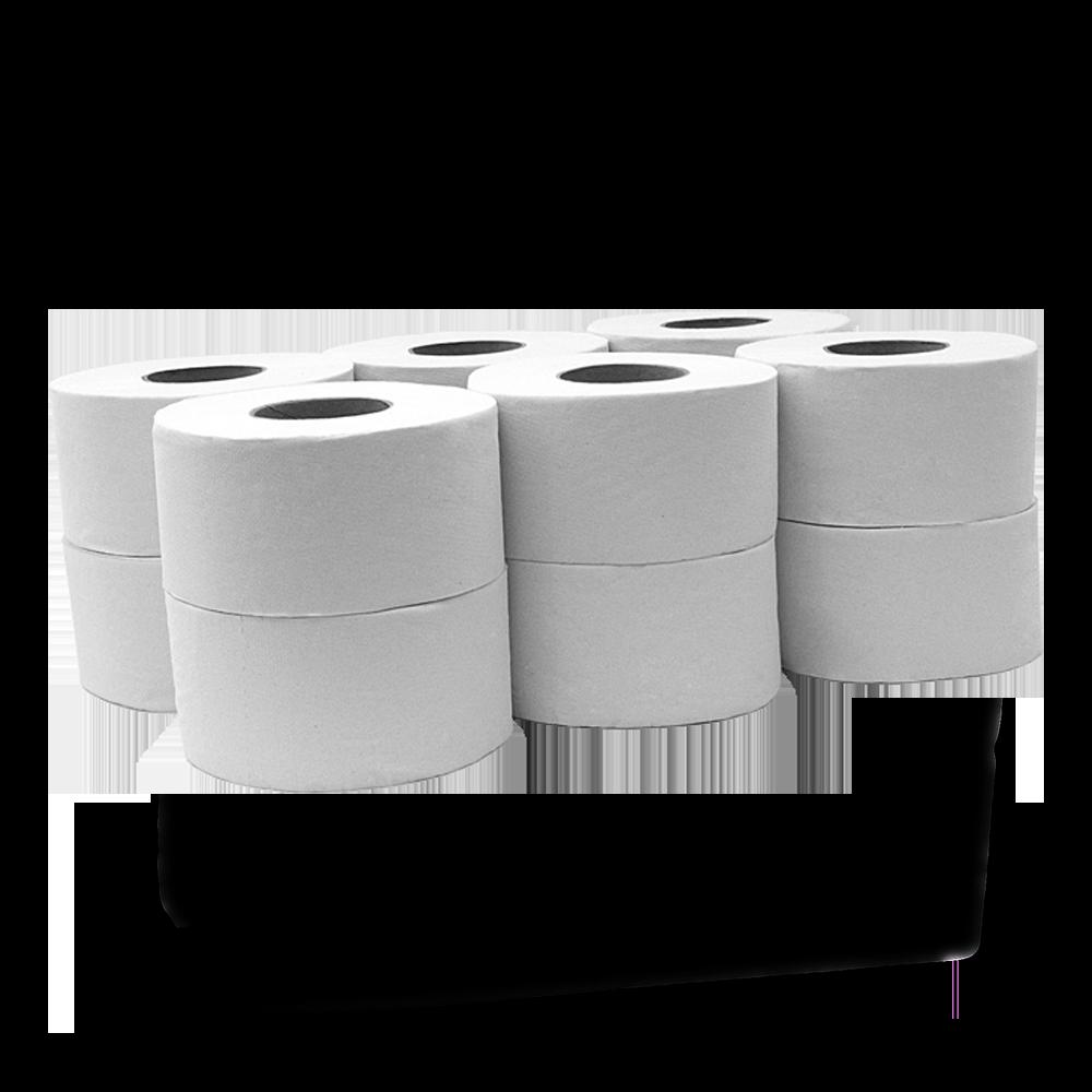 Rolo de Papel Higiénico Jumbo - Pack de 12