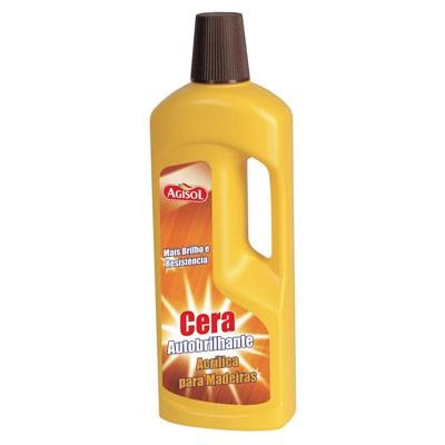 Cera Autobrilhante Madeiras Agisol 750ml