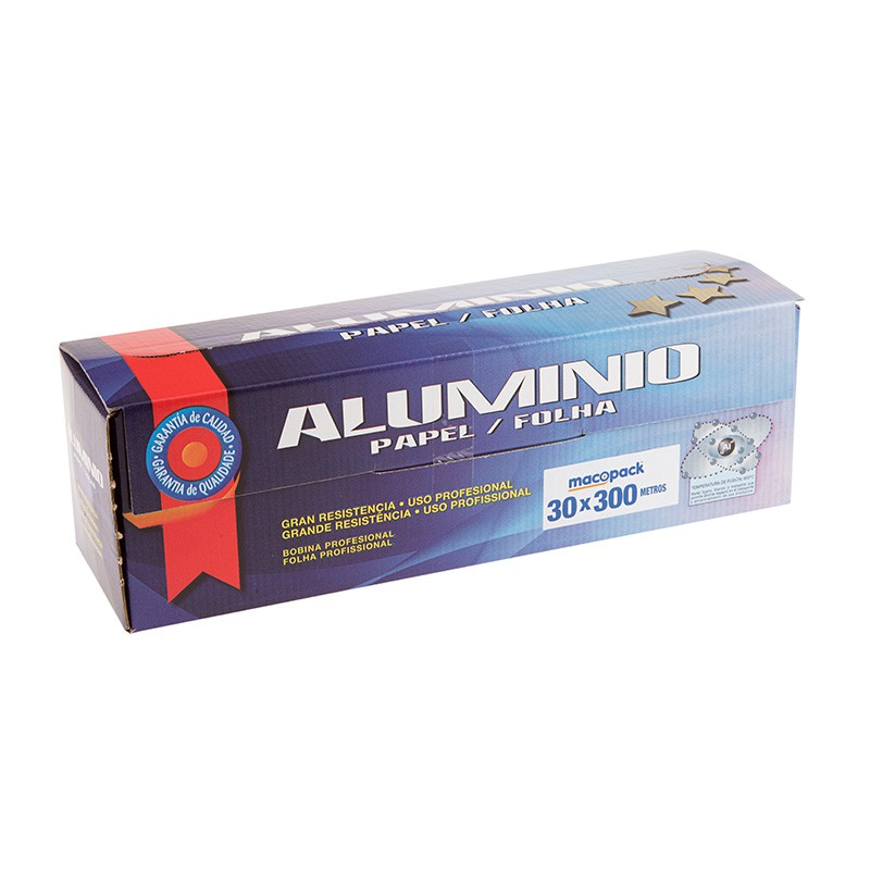 Bobine de aluminio industrial 30x300