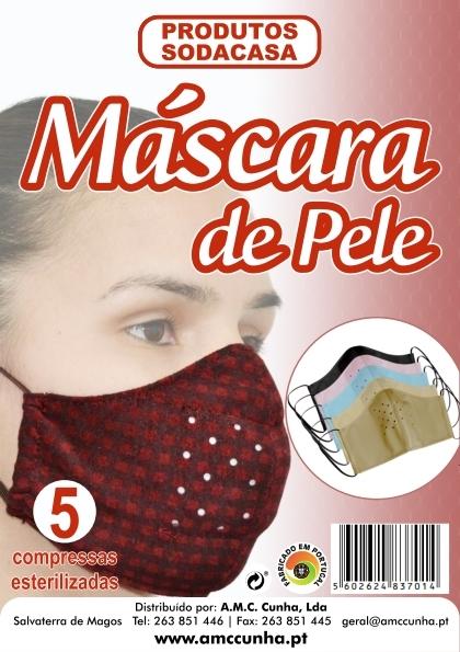 Mascara de Protecçao em Pele com 5 Recargas