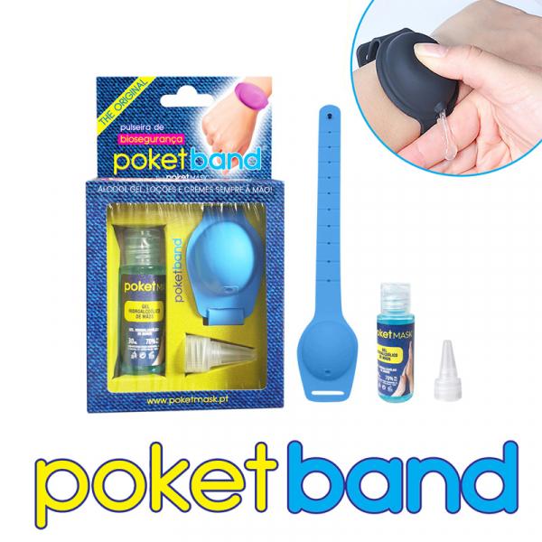 Poketband Pulseira Biosegurança 3pcs
