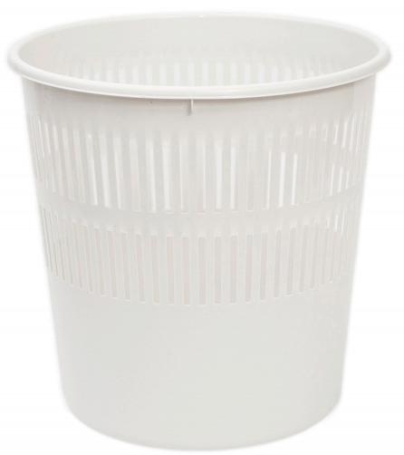 Papeleira de Plástico Branca