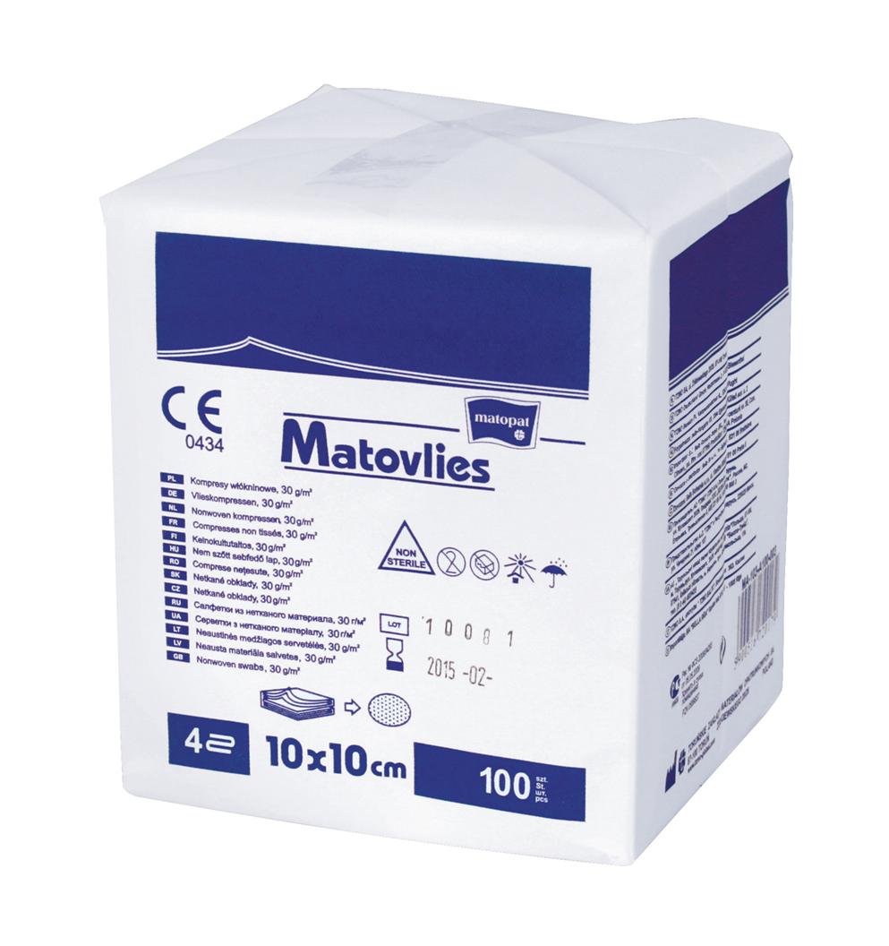 Compressas em não tecido estrile Matovlies