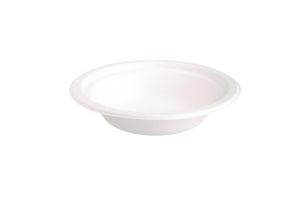 Taça em Pasta de Cana Açúcar 400ml 18x4cm - Pack 125