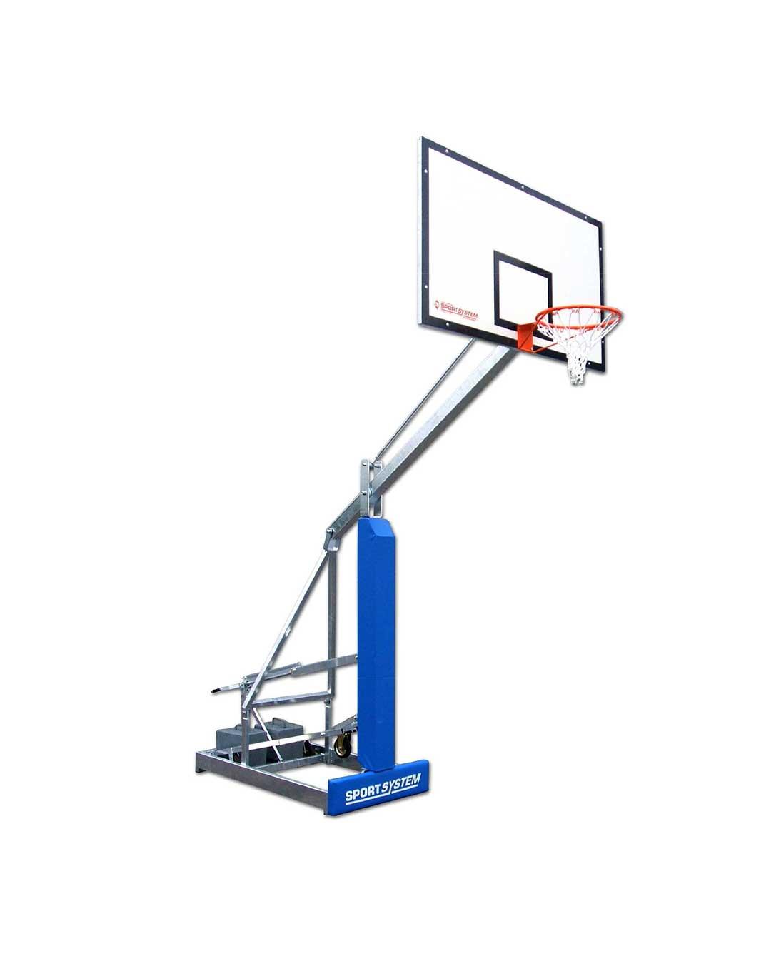 Poste de básquetbol outdoor Streetball móvil S05106 Sport System