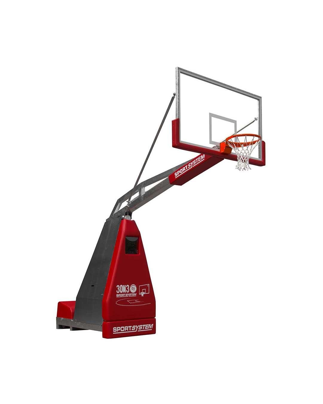 Jirafa (Tablero de básquetbol) outdoor para 3x3 (3 por 3) Cert. FIBA