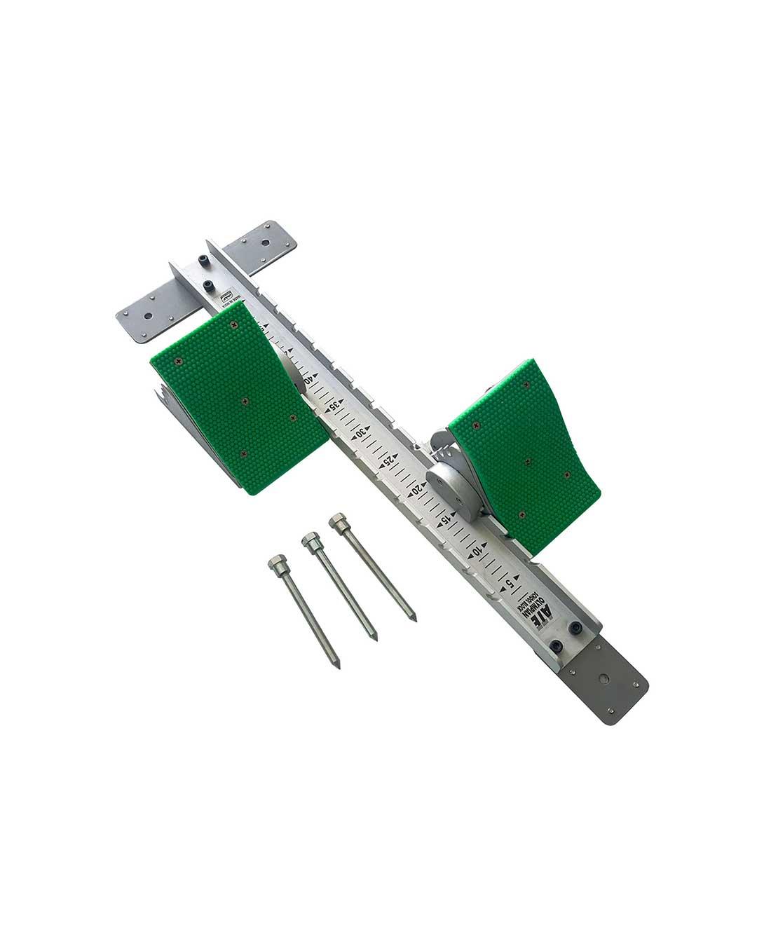 Taco de partida de aluminio Modelo Olympian School (Certificado IAAF)