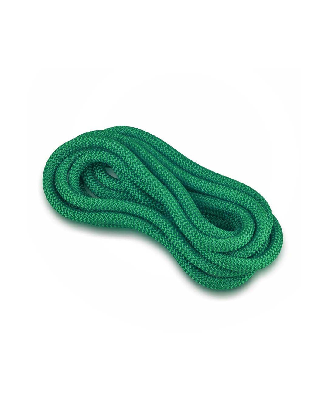 Cuerda de gimnasia rítmica VENTURELLI (Certificada FIG) verde oscuro - 3 m