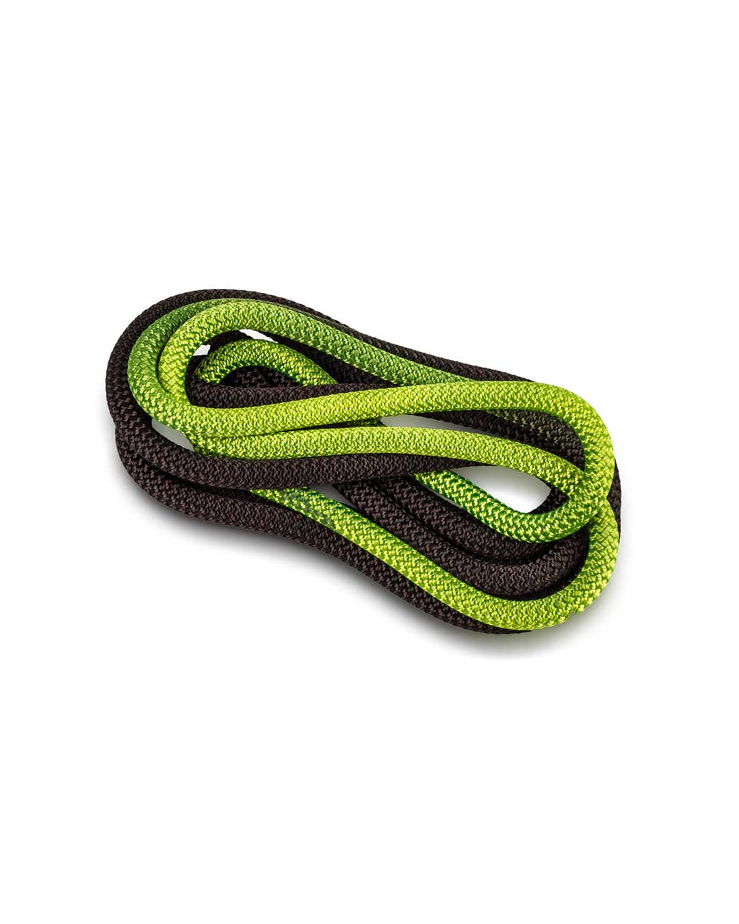 Cuerda de gimnasia rítmica VENTURELLI (Certificada FIG) verde negro - 3 m