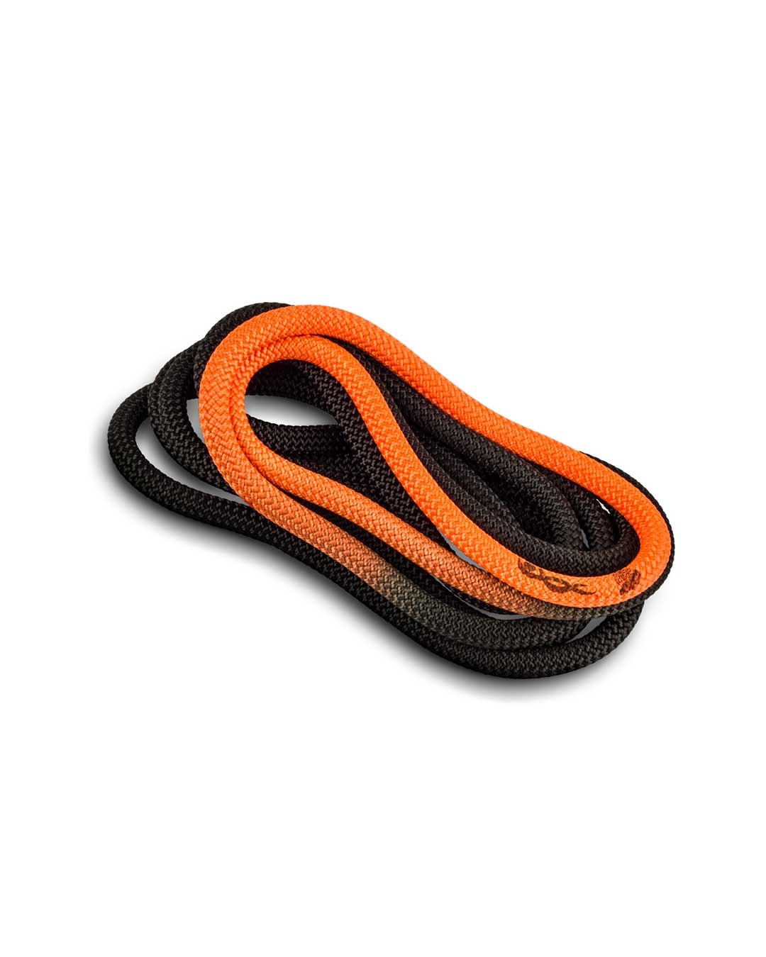 Cuerda de gimnasia rítmica VENTURELLI (Certificada FIG) naranja negro - 3 m