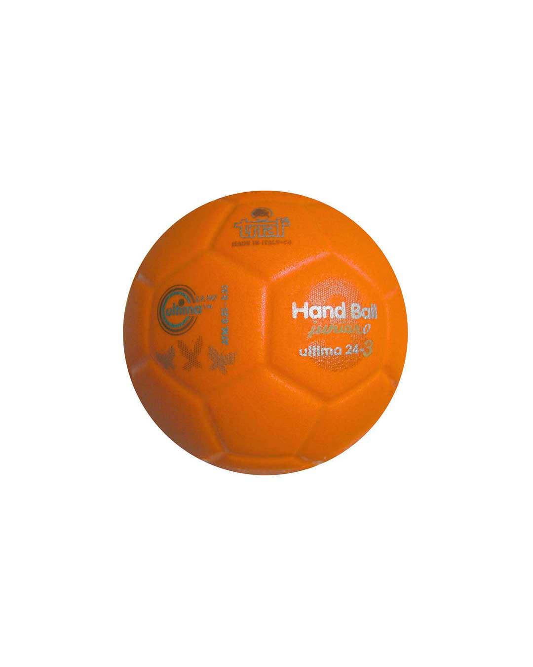 Balón de Handball Marca TRIAL Modelo Ultima 24-3 N° 0 naranja