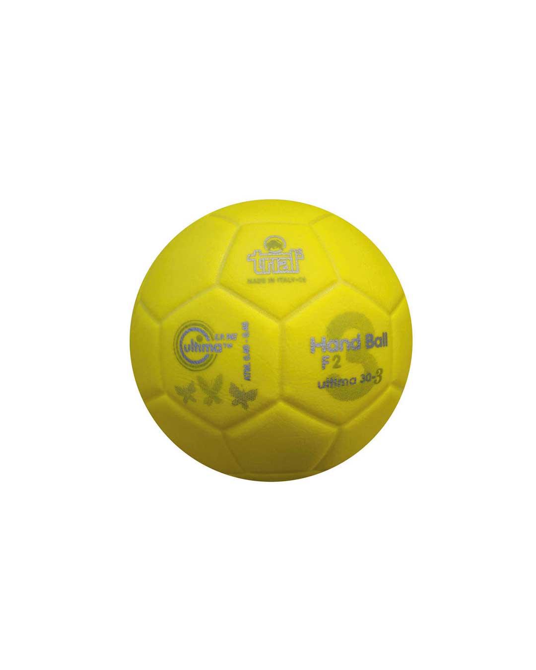 Balón de Handball Marca Trial Modelo Ultima 30-3 N° 2 amarillo