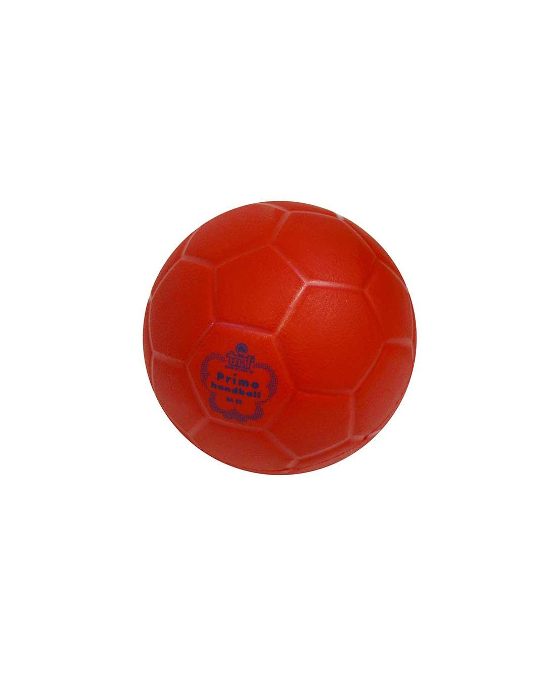 Balón de Iniciación Handball marca TRIAL BA 25 rojo