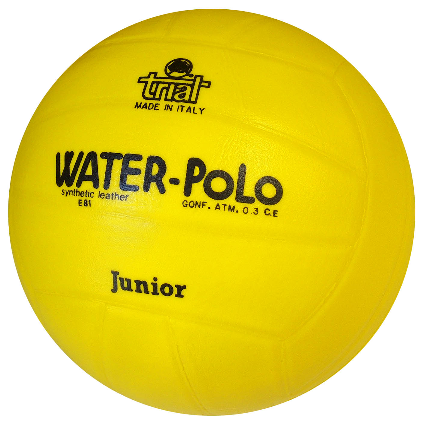 Balón EVA para Waterpolo Junior E81 amarillo