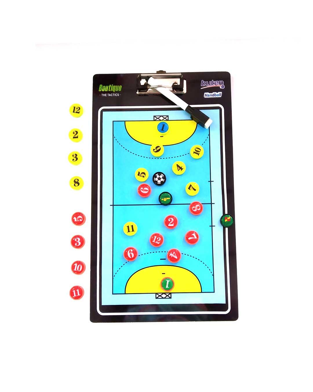 Pizarra táctica de Handball
