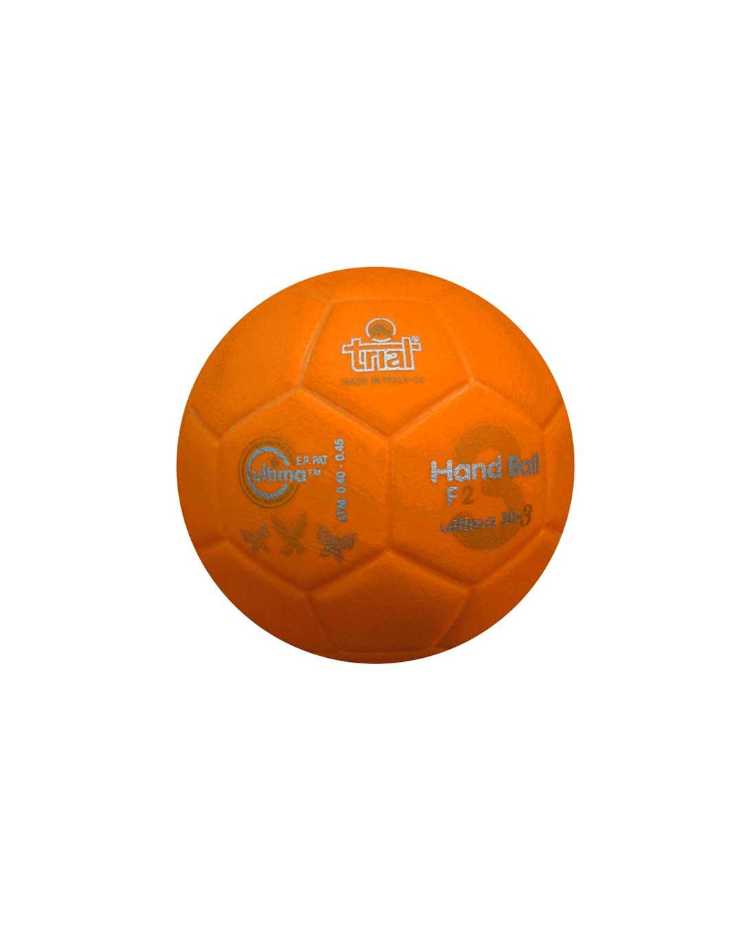 Balón de Handball Marca Trial Modelo Ultima 30-3 N° 2 naranja
