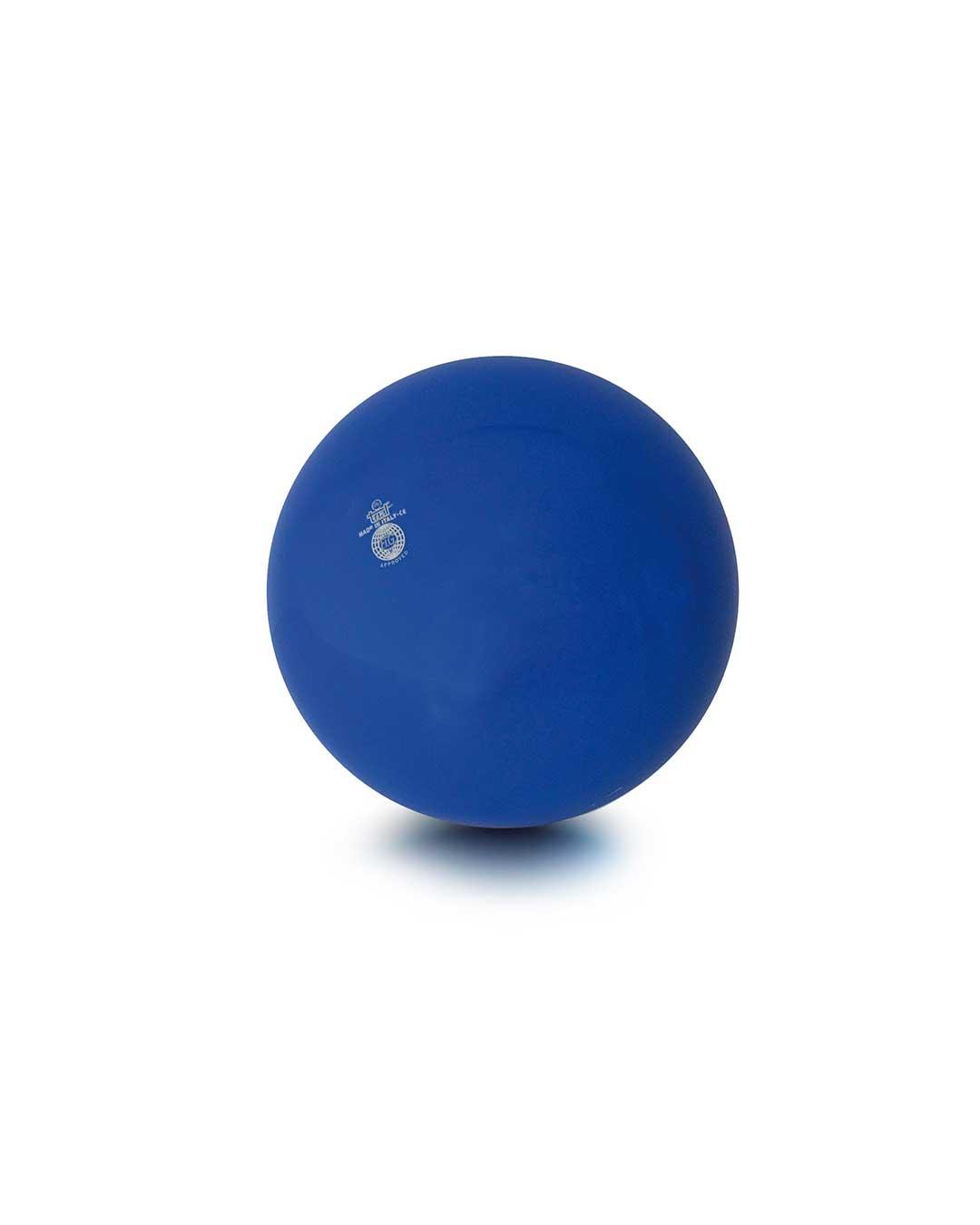 Balón liso de gimnasia rítmica TRIAL 42 azul Chile