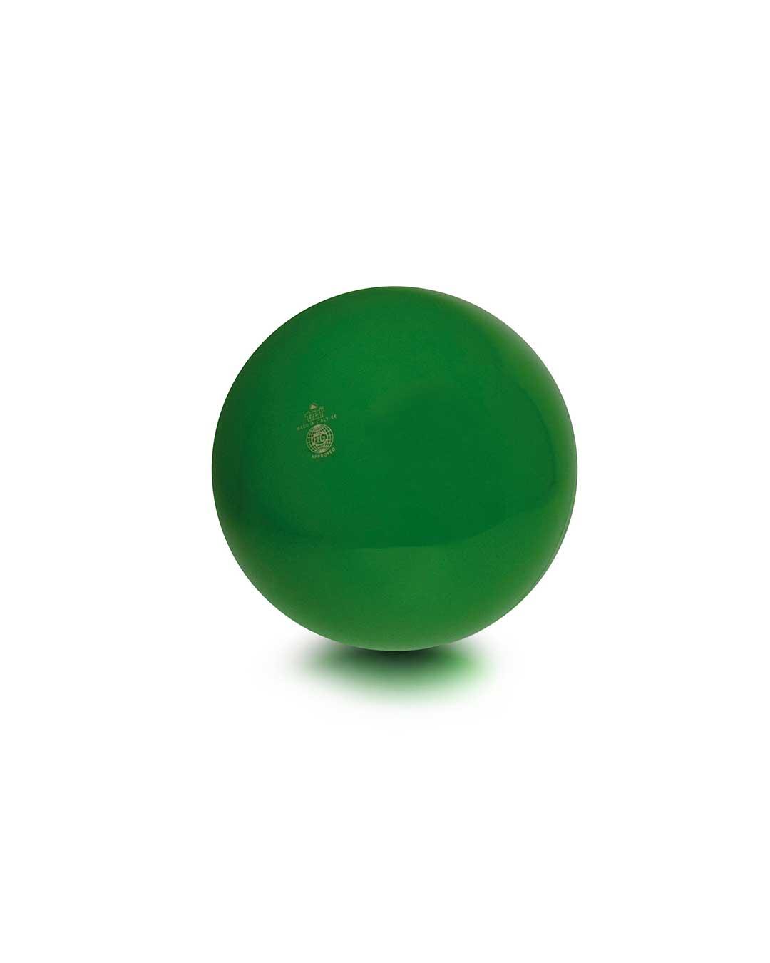 Balón liso de gimnasia rítmica TRIAL 42 verde Chile