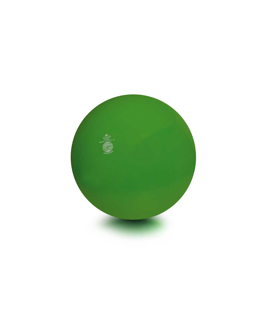 Balón liso de gimnasia rítmica TRIAL 42 verde claro Chile
