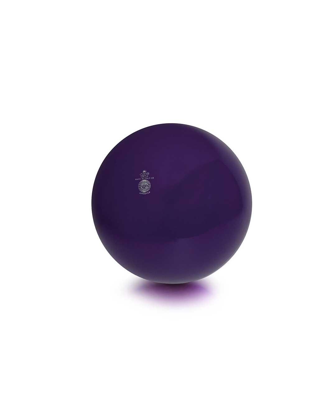 Balón liso de gimnasia rítmica TRIAL 42 morado