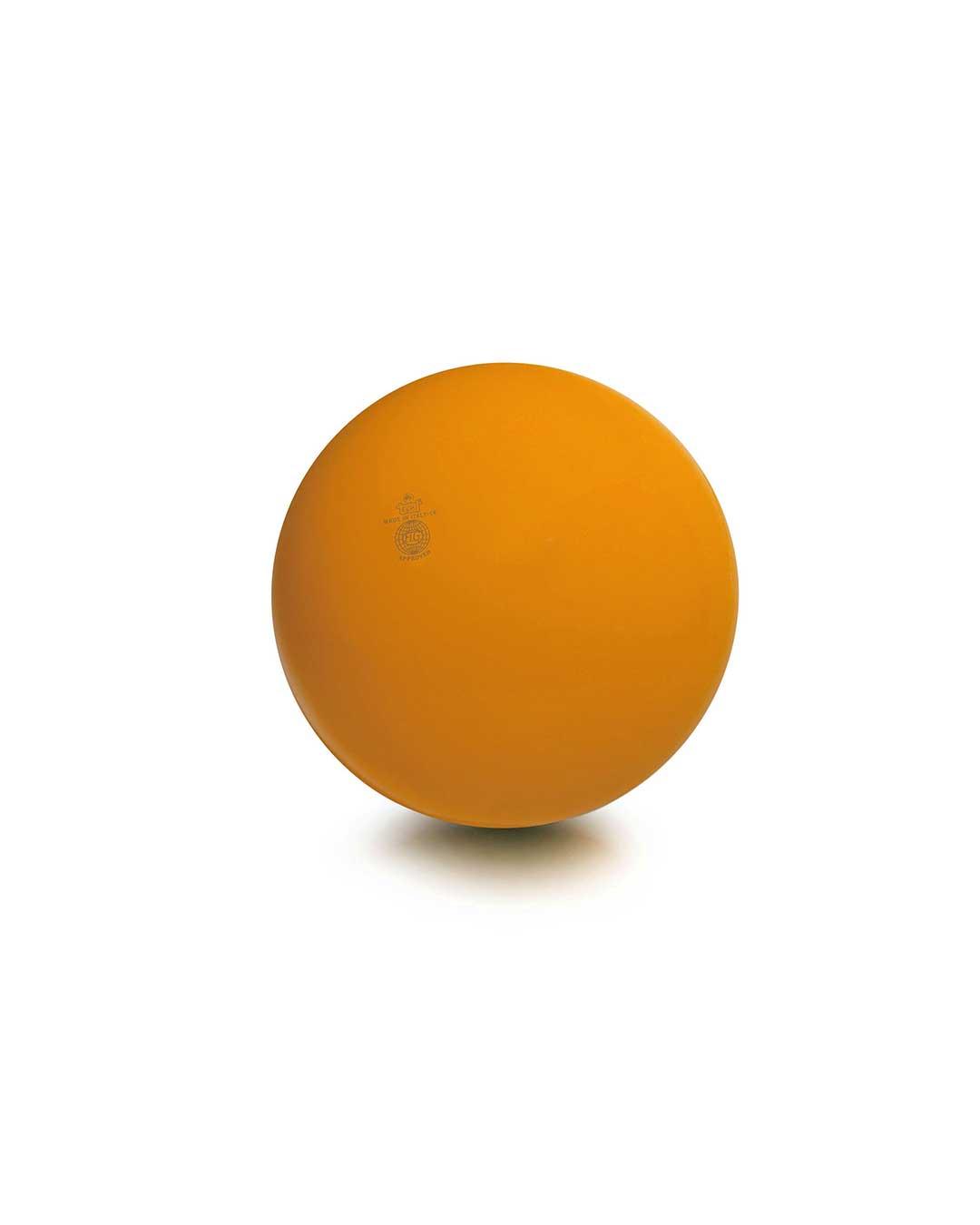 Balón liso de gimnasia rítmica TRIAL 42 naranja