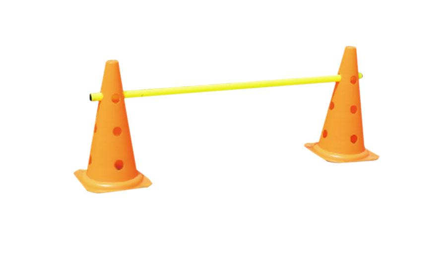 Set conos perforados con barra