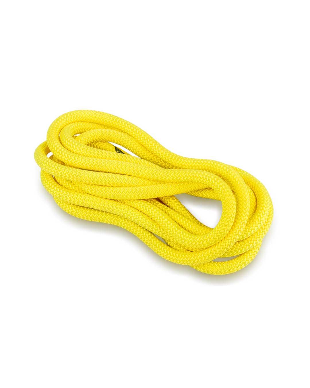 Cuerda de gimnasia rítmica Venturelli (Certificada FIG) amarillo neón- 3 m