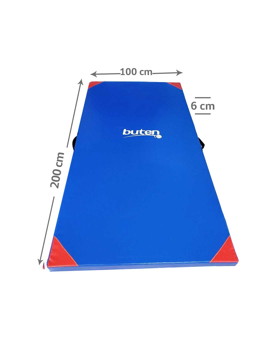 Colchoneta para ejercicio (200x100x6cm) marca BUTEN - PVC