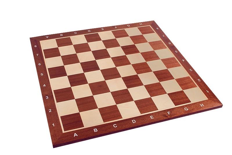 Tablero de ajedrez de madera de 52 cm