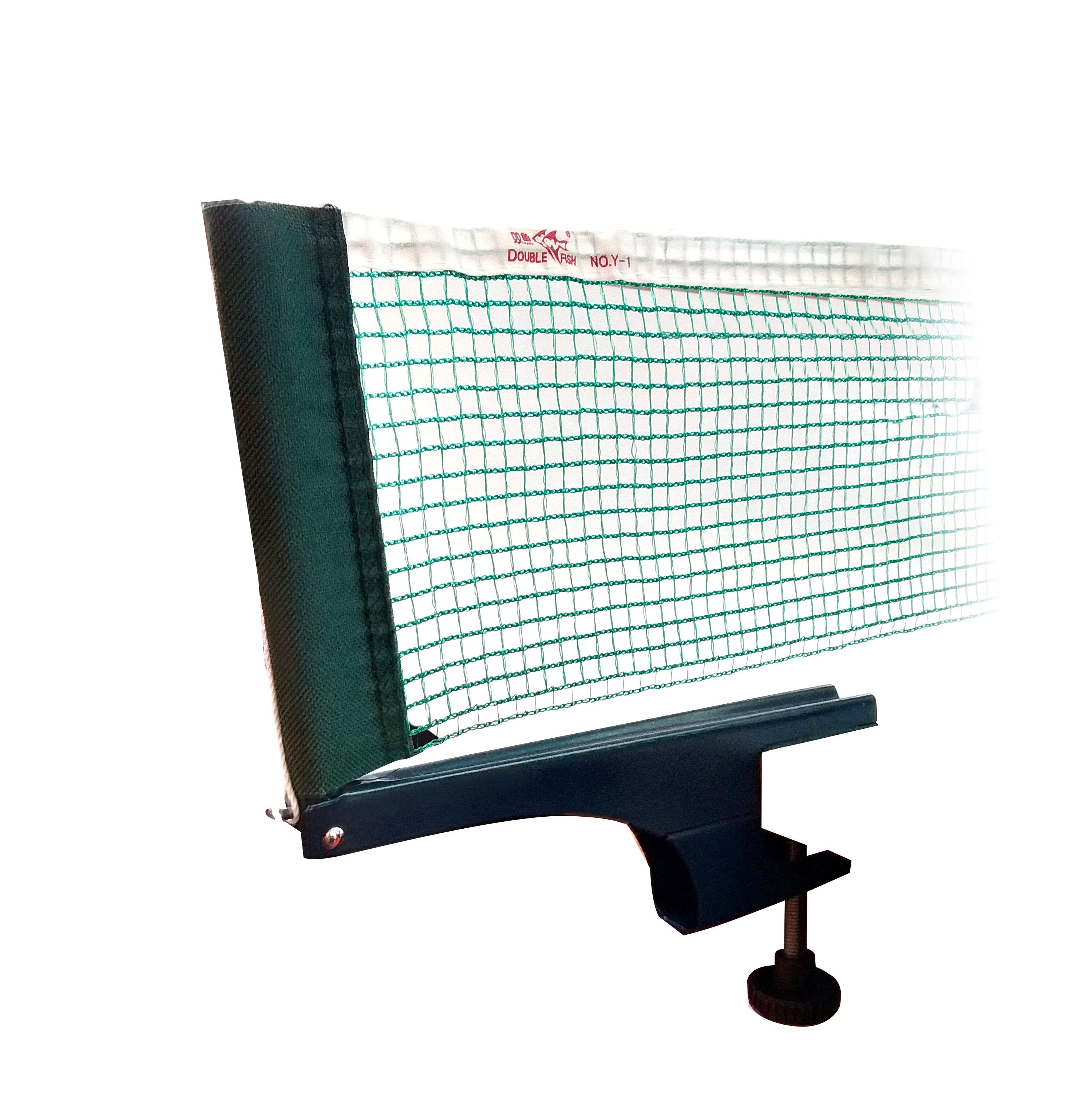 Malla con soportes de ping pong PVC (tensor tipo rosca)