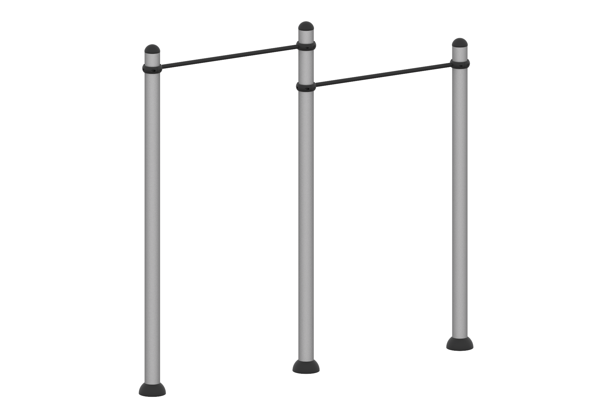 Barra horizontal doble nivel para Pull up