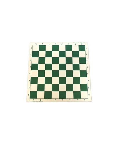 Tablero de Vinilo 42,5 cm color verde mediano casilla de 5 cm