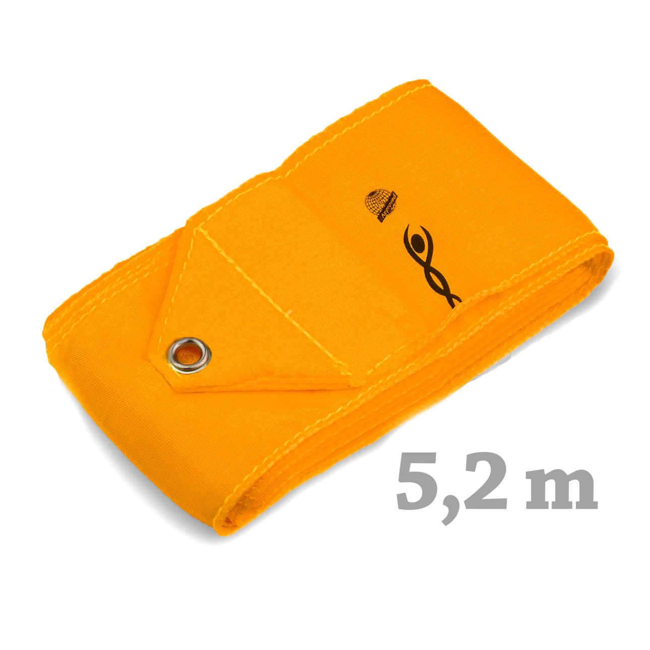 Cinta Gimnasia rítmica marca VNT (cert. FIG)  Naranjan 5.2  mt. RIB516-014