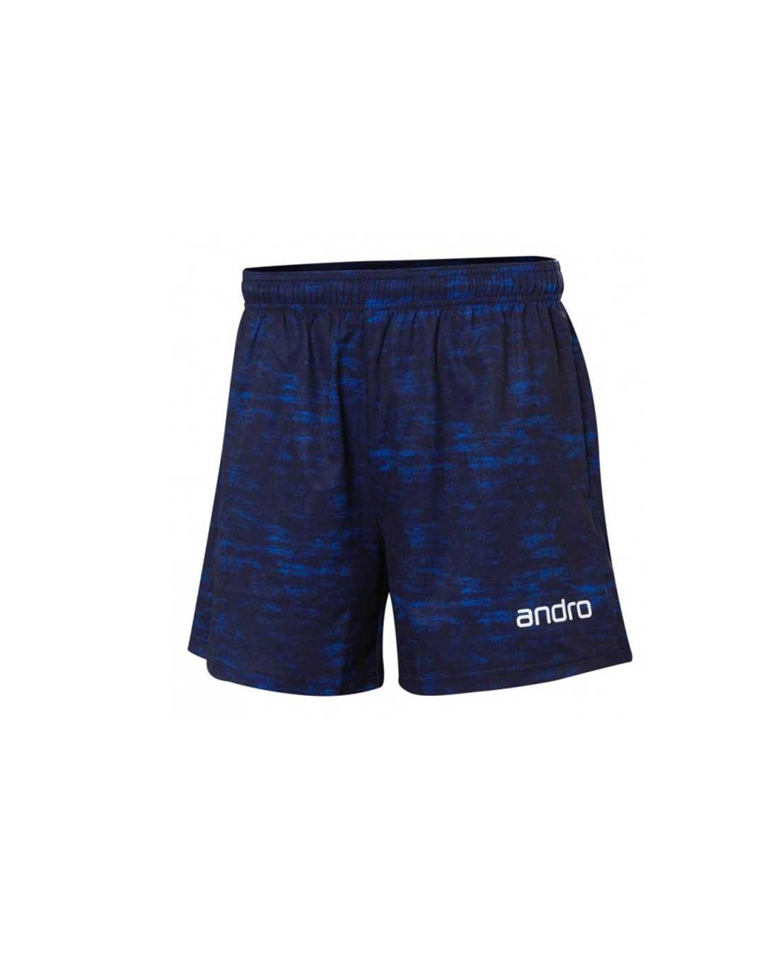 Short Andro Clark azul oscuro