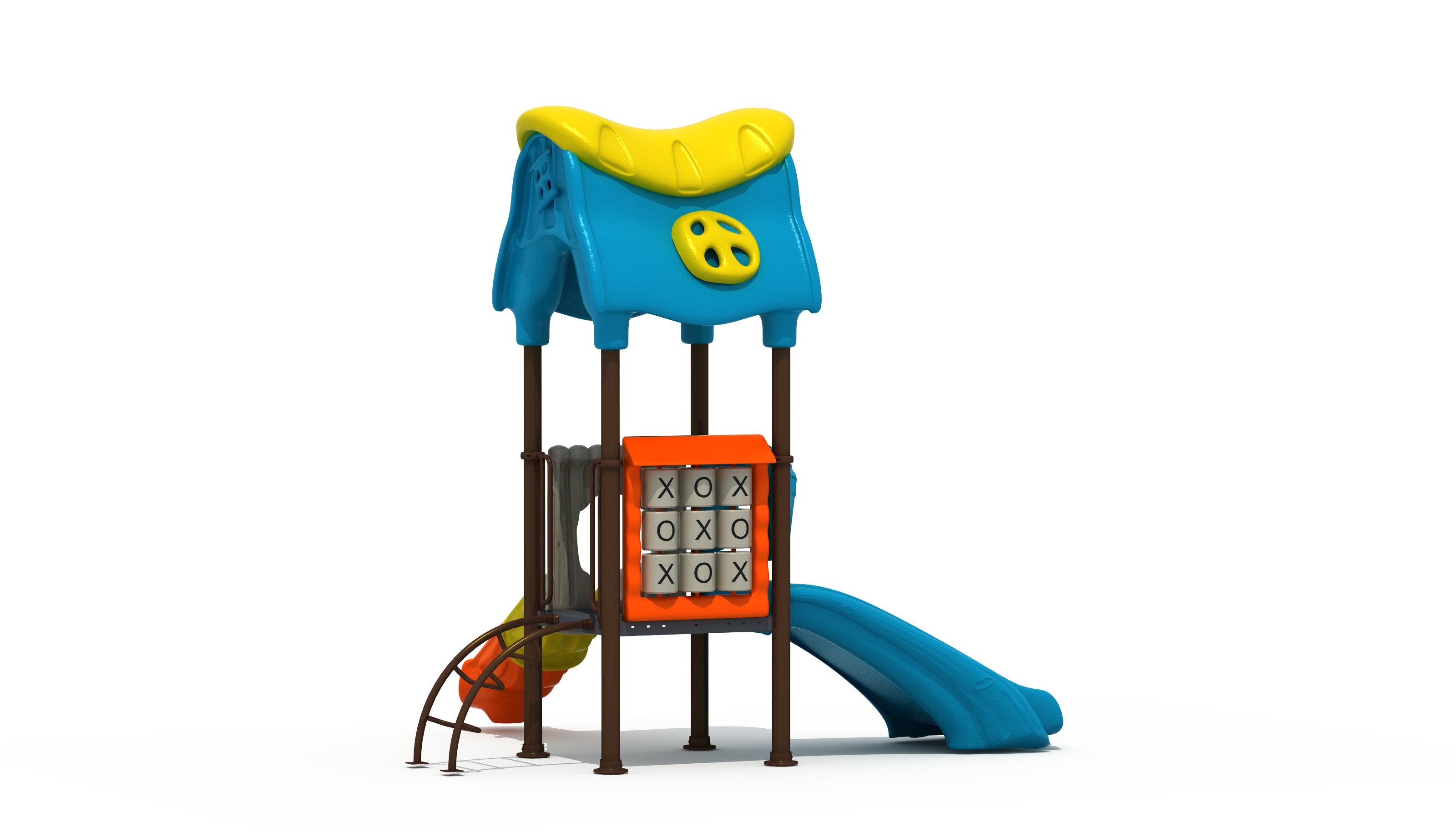 Torre de Juego Infantil para Exterior 3,9X3X3,4 m