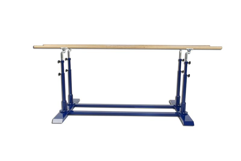 Barras paralelas de gimnasia artística con altura y ancho ajustables (S00152)