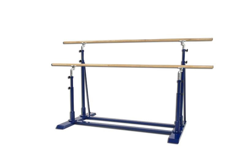 Barras paralelas asimétricas de gimnasia artística alto y ancho ajustable (S00156)
