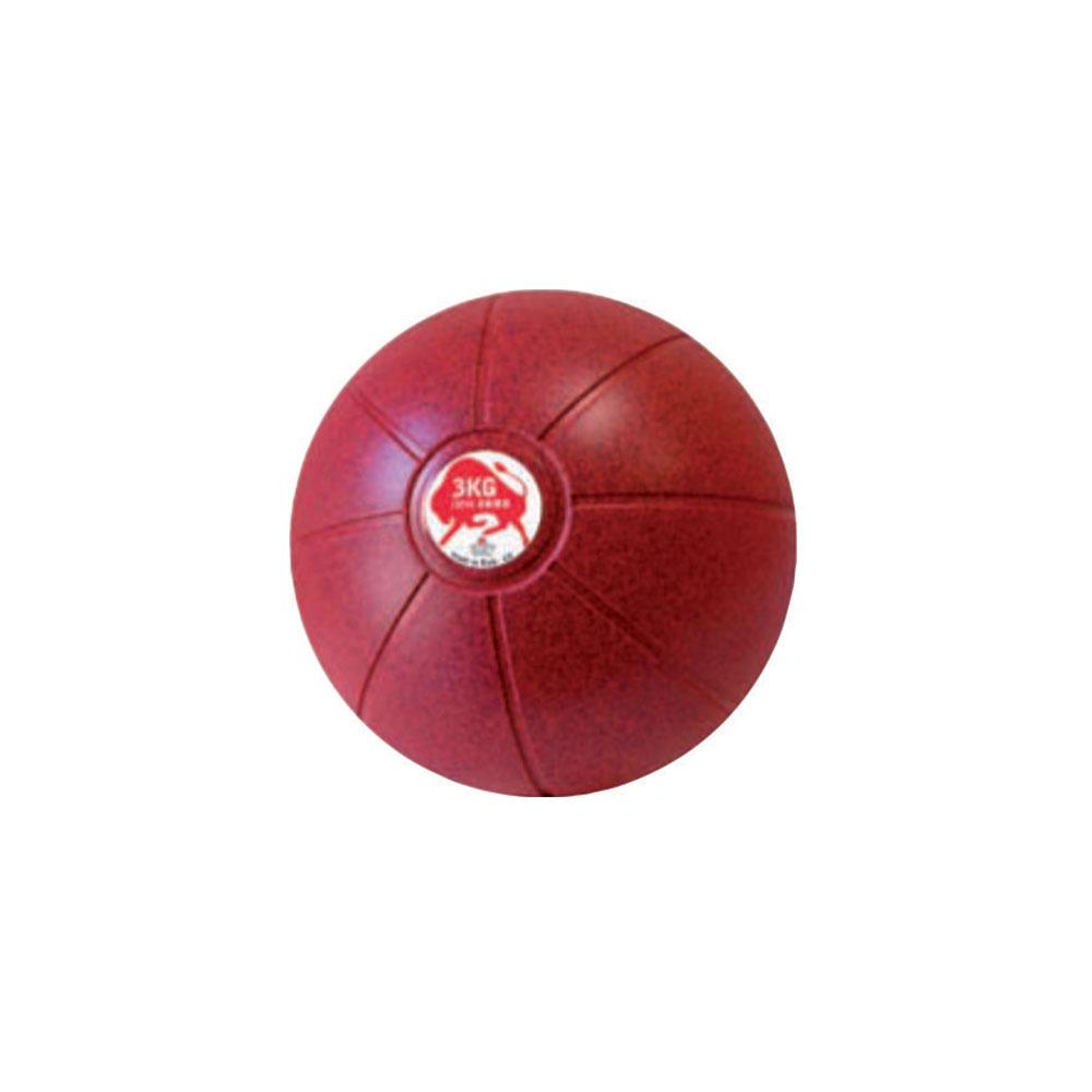 Balón Medicinal 3 KG Carmesí, 19 cm, Marca Trial