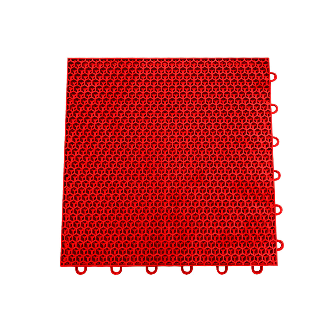 Palmeta O-01 para piso multicancha rojo (exterior)