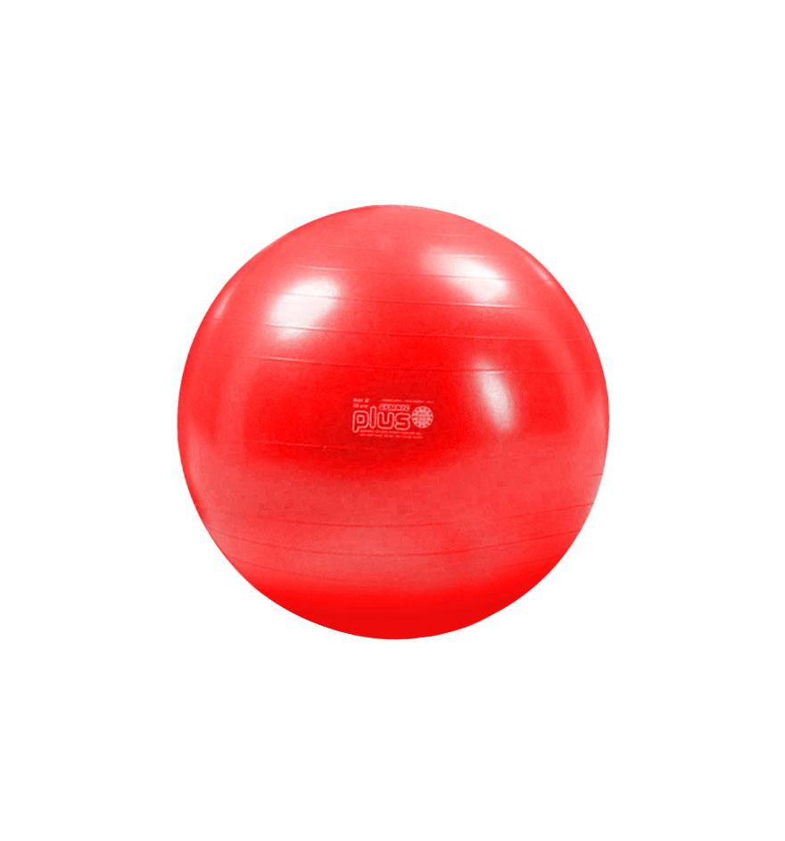 Balón de Pilates Plus Rojo 55 cm