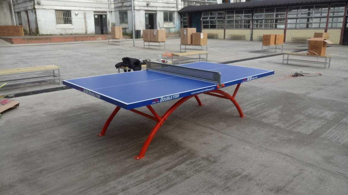 Mesa de tenis de mesa empotradas - comuna de Osorno
